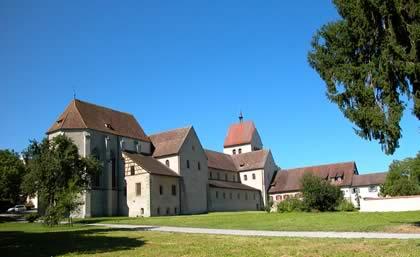 Die Insel Reichenau im Bodensee / Benediktiner-Kloster